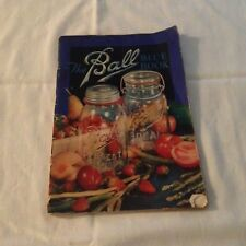 vintage 1932 ball blue book of canning and perserving recipes