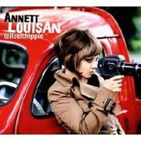 """ANNETT LOUISAN """"TEILZEITHIPPIE"""" CD LIMITED NEU"""