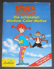 Window Color Motive Pippi Langstrumpf, Vorlagen in Originalgröße, NEU & OVP