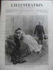 ILLUSTRATION 1885 N 2234 THEATRE VAUDEVILLE: V.SARDOU