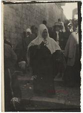 Jérusalem Bethlehem Dimanche des rameaux 9x6,5cm Voyage en Orient 1909
