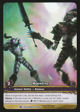 WOW WARCRAFT TCG ARCHIVES FOIL : MOONFIRE EA X 4