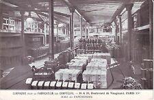 France Paris - Blvd de Vaugirard Compagne pour la Fabrication des Compteurs PPC