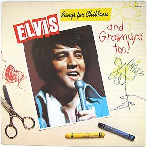 ELVIS PRESLEY Elvis Sings For Children And Grownups Too LP NM- NM-