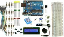 Official Arduino UNO Rev3 LCD LM35 DHT11 Humidity Light Sensor Data Logger Kit