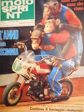 Motosprint 1 1980 Moto Morini 500 - Listino Prezzi Moto 1980  [SC.31]