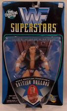Wwe Wwf Best of 1997 The British Bulldog Exclusive Vest Bone Crunching Jakks Bc