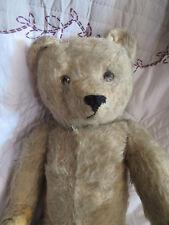 42cm Steiff Teddy Bear Ours en Peluche Ancien Mohair Vintage Jouet French German