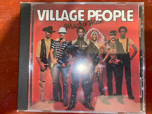 The Village People - Macho Man CD, First Edition 1978