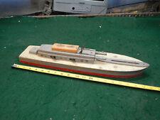 Vintage Keystone  Battleship Wooden Toy Boat  USA Made