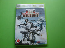 Hour of Victory (Microsoft Xbox 360, 2007, DVD-Box)
