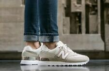 Athletic Shoes Sale Women New 574 Balance Gold For HI29EYWD