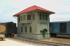 BACHMANN 35114 HO CENTRAL JUNCTION SWITCH TOWER BUILT RESIN BUILDING FREE SHIP