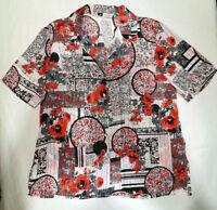 CAMICIA/Shirt CALIBRATA tg/size 51 (=tg 56-58) Made in ITALY BIG SIZE CASACCA