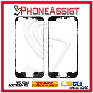 Marco Frame IPHONE 6 Marco Pantalla LCD Con Pegamento Caliente 3M Negro Black