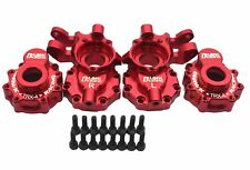 CNC Machined Alloy Front Portal Drive Housing Red For Traxxas TRX-4 Crawler