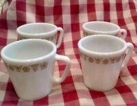 Pick Set] Corning Pyrex Fire King Baking Coffee Mug Tea Cup Soup Ramekin