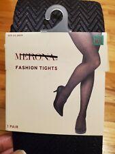 Merona Ebony Herringbone Tights