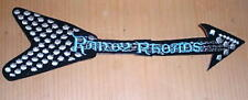 RANDY RHOADS Large Vintage Embroidered Patch New Condition