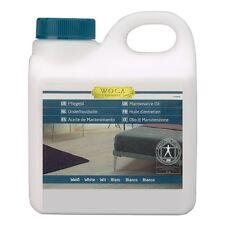 Woca Olio di Manutenzione per parquet e pavimenti in legno, bianco 1l