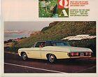 1968 Chevy Q&A Brochure: CAMARO/CORVETTE/CHEVELLE/NOVA/SS/IMPALA/CAPRICE/CORVAIR