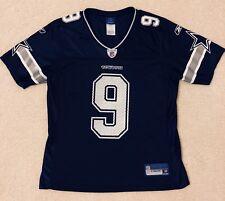 6cde61ddfe6 Tony Romo #9 NFL Dallas Cowboys Mesh Jersey - Reebok Women's Small