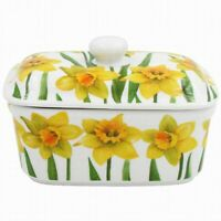 Leonardo Collection Spring Daffodil Fine China Butter Dish lp94275