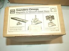 saunders omega magnetic & vacuum easel base NEW VERY OLD STOCK