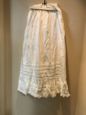 "Very Pretty Victorian Slip/Skirt With A ""K""?"