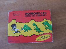 """Lcd game Q & Q """" Caveman """" game watch"""