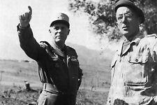 Militaria - Indochine - Le Général Salan et le colonel Brothier