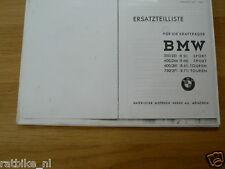 B0274 BMW---ERSATZTEILLISTE---R51SPORT;R66SPORT;R61TOUREN;R71TOUREN-MODEL