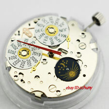 Moon Phase Day Date Seagull ST1655 Automatic Mechanical Movement C760