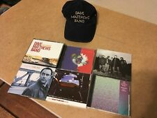 DMB Lot 6 Dave Matthews Band CD DVD and a HAT!