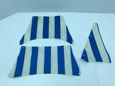 LEGO Original Cloth Sails From Set 6274 Caribbean Clipper Pirate Ship Blue White