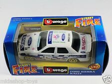 [PF3-56] BBURAGO BURAGO 1/43 STREET FIRE COLLECTION #4183 FORD SIERRA RALLY NEW