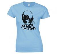 "ATTACK ON TITAN, ANIME ""ANNIE LEONHART"" LADIES T-SHIRT NEW"