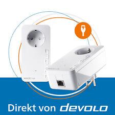 devolo Magic 2 LAN, 2 Powerline Adapter, Internet aus der Steckdose, 2400 Mbps
