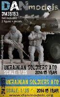Dan Models 35153 - 1/35 Ukrainian Soldiers 2014-15 Ukraine ATO Scale 2 Figures