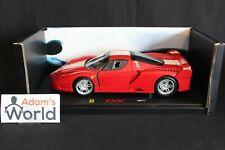 Hot Wheels Elite Ferrari FXX 1:18 red (PJBB)