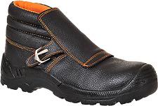 Portwest Steelite Welders Composite Toe Workboot Black Size 9 - Fw07