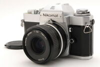 [EXC+++++] Nikon Nkomat EL SLR Camera w/Nikkor 35mm F2.8 MF Lens from Japan #IJJ