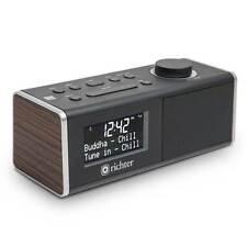 Richter WAKE RR40WAL DAB+ Digital Alarm Clock Radio Walnut - Brand New