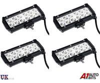 4 X 36W Cree LED Trabajo Luz Punto Barra Todoterreno Coche Camión Jeep Atv 4WD
