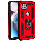 For Motorola One 5G Ace / G 5G Phone Case, Ring Kickstand Shockproof Armor Cover
