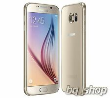 "Samsung Galaxy S6 G9200 Dual Sim LTE Gold 32GB  5.1"" 16MP Android Phone By FedEx"