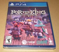 For The King (Sony Playstation 4) Brand New  Fast Shipping