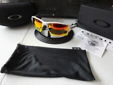 Oakley Flak 2.0 XL Team Color Polished White Prizm Ruby NIB RARE