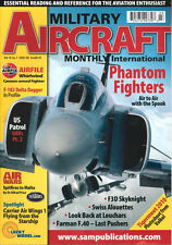 MILITARY AIRCRAFT MONTHLY V10 N1 RAF PHANTOM / F-102 USAF ANG / CVW-1 USN / F3D