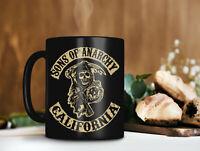 Sons Of Anarchy California Mug Anarchy Motorcycle Club Mug American Cr Funny Cup